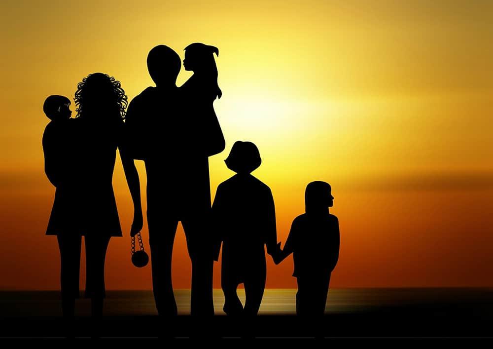 Viudedad familia
